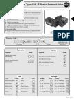 C15-P Series Solenoid Valve Details.