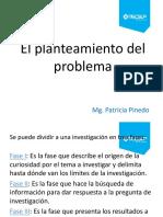 El Planteamiento Del Problema I