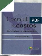 Contabilidad de Costos-Pedro Zapata Sanches