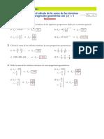 Ficha Suma Infinitos Terminos Sucesion Geometrica_soluciones