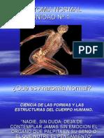 Instrumentación.Quirúrgica - 1º Año - Anatomía - Unidad Nº1 - Anatomía Normal