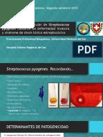 Caracterizacion molecular de Streptococcus pyogenes