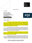 Scientology Threat Letter