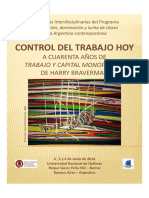 Control Del Trabajo - Tercera Circular