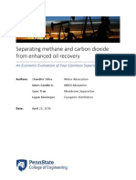 Separating Methane and Carbon Dioxide