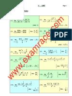 Mathematics Limit