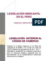 Legislación Mercantil Peruana