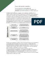 Fundamentos y Pasos Del Método Científico