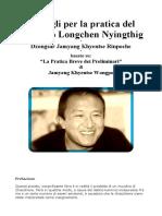 Dzongsar Jamyang Khyentse Rinpoche - Ngondro 1° parte