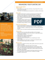 Fact Sheet 2 - Organizing Your Planting Day ~ School Ground Greening - Maintenance