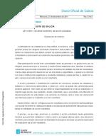 Ley de acción voluntaria de galicia