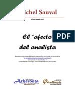 Michel Sauval - El Afecto Del Analista
