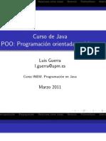 Programación Orientada a Objetos. Curso de Java. INEM