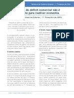 MacroMatica Relatório de Comércio Exterior 1T2016