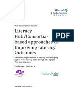 Literacy Hub/Consortia-based approaches to Improving Literacy Outcomes