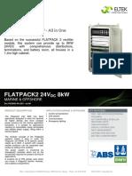 Datasheet Flatpack2 8kW