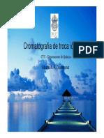 Cromatografia - Troca Ionica