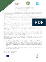 Declaración de Quito Final Español