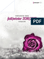 HarlequinTEEN FallWinter2016-17 Catalog