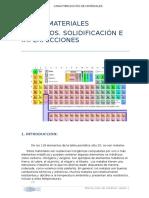 Tema 3. Materiales Metálicos. Solidificación e Imperfecciones