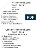 Consejo Técnico de Zona 2013-2014