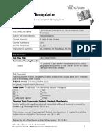 unit plan template