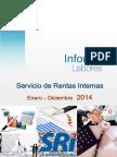 Informe Anual de Labores 2014. Ext- Docx