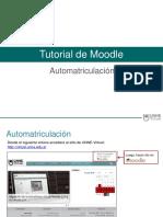 Tutorial Automatriculacion