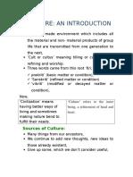 NIOS Culture Notes