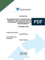 Informe Final - Matriz de Competencias Tecnicas VM