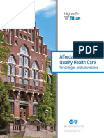 Blue Cross Blue Shield of MA Higher Ed Blue Brochure