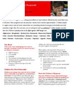 Child Hunger Crisis Fact Sheet  October 2009