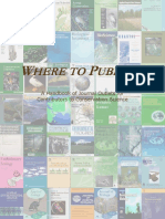 Where to Publish
