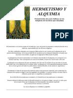Cattiaux - Hermetismo y Alquimia