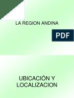 Region Andina Peruana
