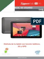 ManualesYTutoriales.com - Vexia Zippers Tab 10i 3G
