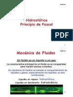 Clase 6 - Hidróstatica
