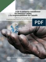 Impacto de La Minería Canadiense en América Latina