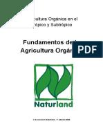 Fundamentos de La Agricultura Orgánica