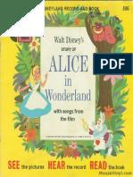 Alice in Wonderland ReadAlong