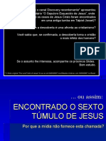 (2) O Sepulcro de Jesus - POWER POINT