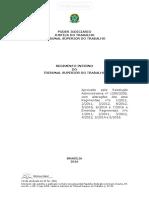 Regimento Interno Corte Trabalhista Brasileira