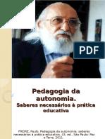 Pedagogia Da Autonomia 2014