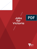 Jobs for Victoria