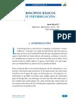 Principios Basicos de Fertirrigacion