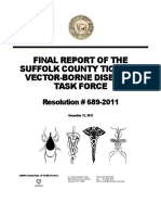 Suffolk County Tick and Vector Borne Diseases - Final Report
