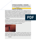 Manual de Primeros Auxilios (Picaduras y Mordeduras