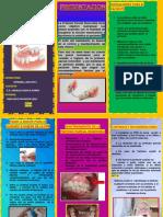 Control y Mantenimiento de un paciente rehabilitado con Prótesis Parcial Removible