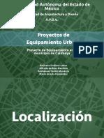 Proyecto Equipamiento Urbano de Calimaya, México
