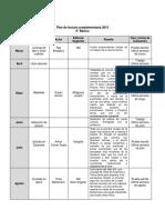 8º Básico 2015 Plan de Lectura Complementaria